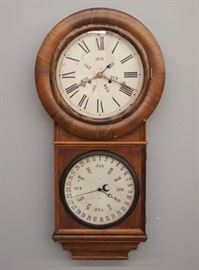 "Welch, Spring & Co. ""No. 2"" calendar clock"