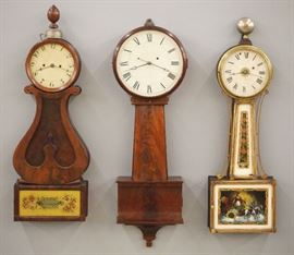 American Banjo Clocks