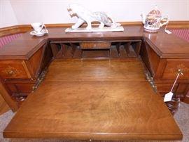 Spinet desk open