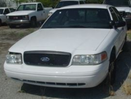 Front View Of 2011 Ford Crown Victoria