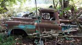1955 Chevrolet Pick-Up Truck / For Parts