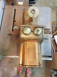Erickson Brass / Copper Wall Phone