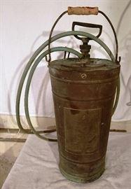 Antique Lofstrand Fire Extinguisher