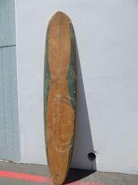 Vintage 9 1/2 foot surfboard