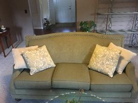 LOVELY FABRIC,  NEWER COUCH