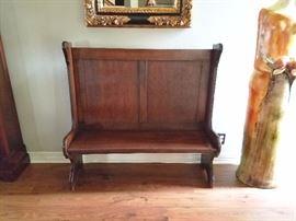 Antique Church Bench / $300.00