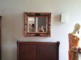 Framed Mirror / $45.00