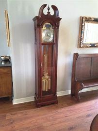Modern Howard Miller Grandfather Clock Photo #1