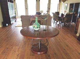Round Dining / Entry Table / $150.00