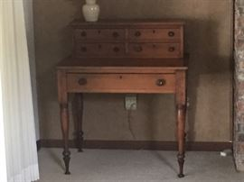 Antique desk with Hutch.  100+ years old.