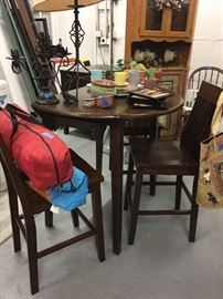 dining fold down table