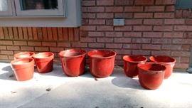 Lots of nice garden pots