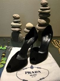 Lovely shoes by Prada.