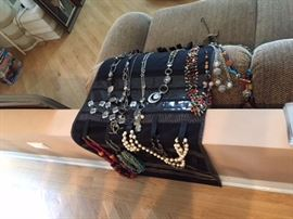 Jewelry in cases
