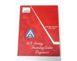 A5 US Army Training Center Engineer yearbook