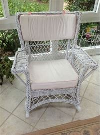 Wicker Chair $ 70.00