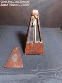Seth Thomas antique Metronome de Maelzel