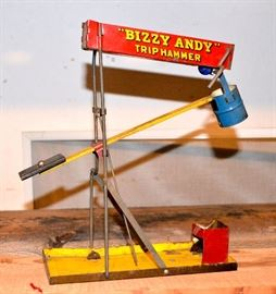 1930's Bizzy Andy Trip Hammer working
