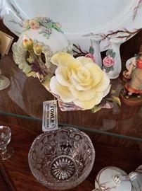 Towle porcelain rose