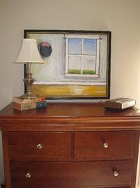 Queen size bedroom set by Stanley.