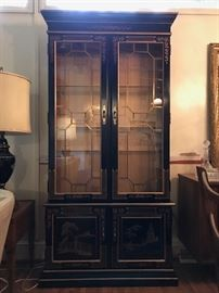 Habersham Asian Curio / China Cabinet.
