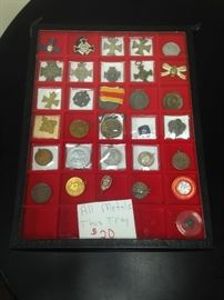 Military Medals 1870's-1940