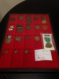 Military Medals WWI-WW2