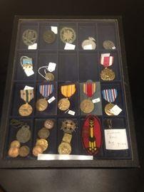 Military  Medals WW1-WW2