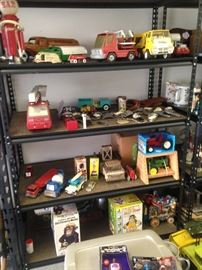 Metal Toys and Trucks