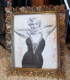Marilyn Monroe was a amazing find that you don't see every day - Autographed Photo