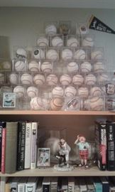 Autograph baseball collection signed