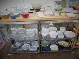 Corning ware, Westing House, Fire King, Pyrex and more!