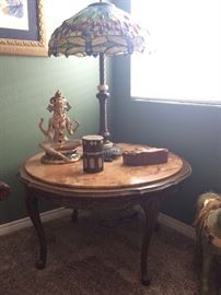 Marble top table ( table ONLY )