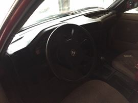 BMW 325 E   5 speed transmission.  Free and clear title.