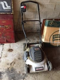 Electric Lawnmower.