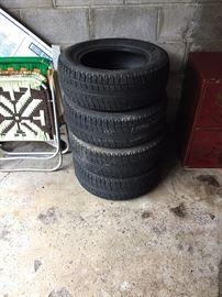 4 Extra Set of tires for BMW 325 E.