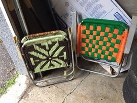 Truly one of a kind lawn chairs for your comfort.