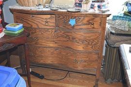 antique sideboard / buffet