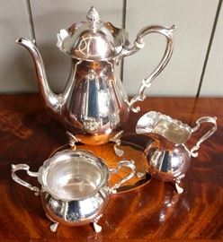 Fisher 3 Piece Sterling Coffee Set