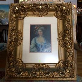 19thC French Oil On Board