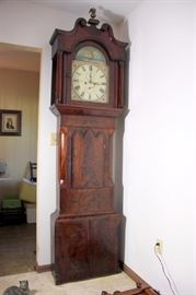 Incredible William Brooksbank Longcase Clock ca. 1820