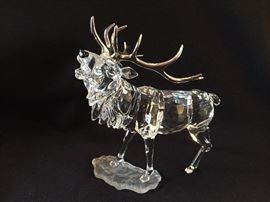 "Swarovski crystal ""Rare Encounters"" collection stag-retired"