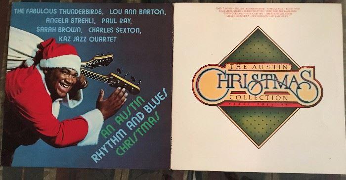 Super fun Austin Christmas albums