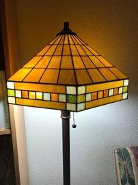 Stainglass floor lamp