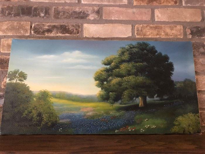 Nice original oil by Texas artist Viola Whited