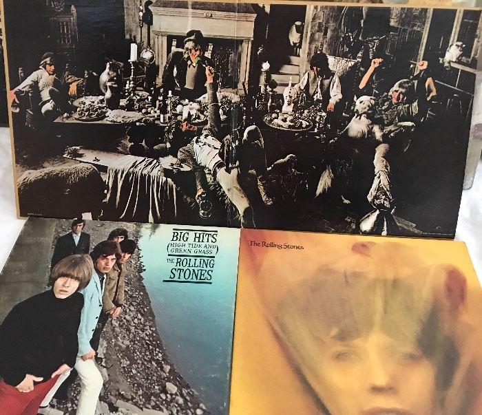 Rolling Stones LPs