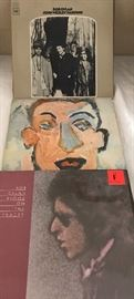 Huge collection of Bob Dylan LPs