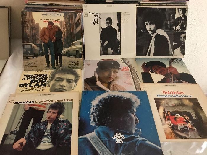Bob Dylan LPs