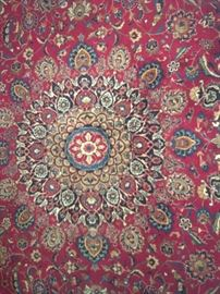 Another view of the Center of Persian Rug