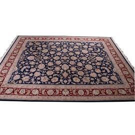 Finely Hand-Knotted Indo-Persian Rug